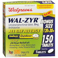 wal zyr WAL ZYR versus ZYRTEC:  Allergic to legislating trademark law?