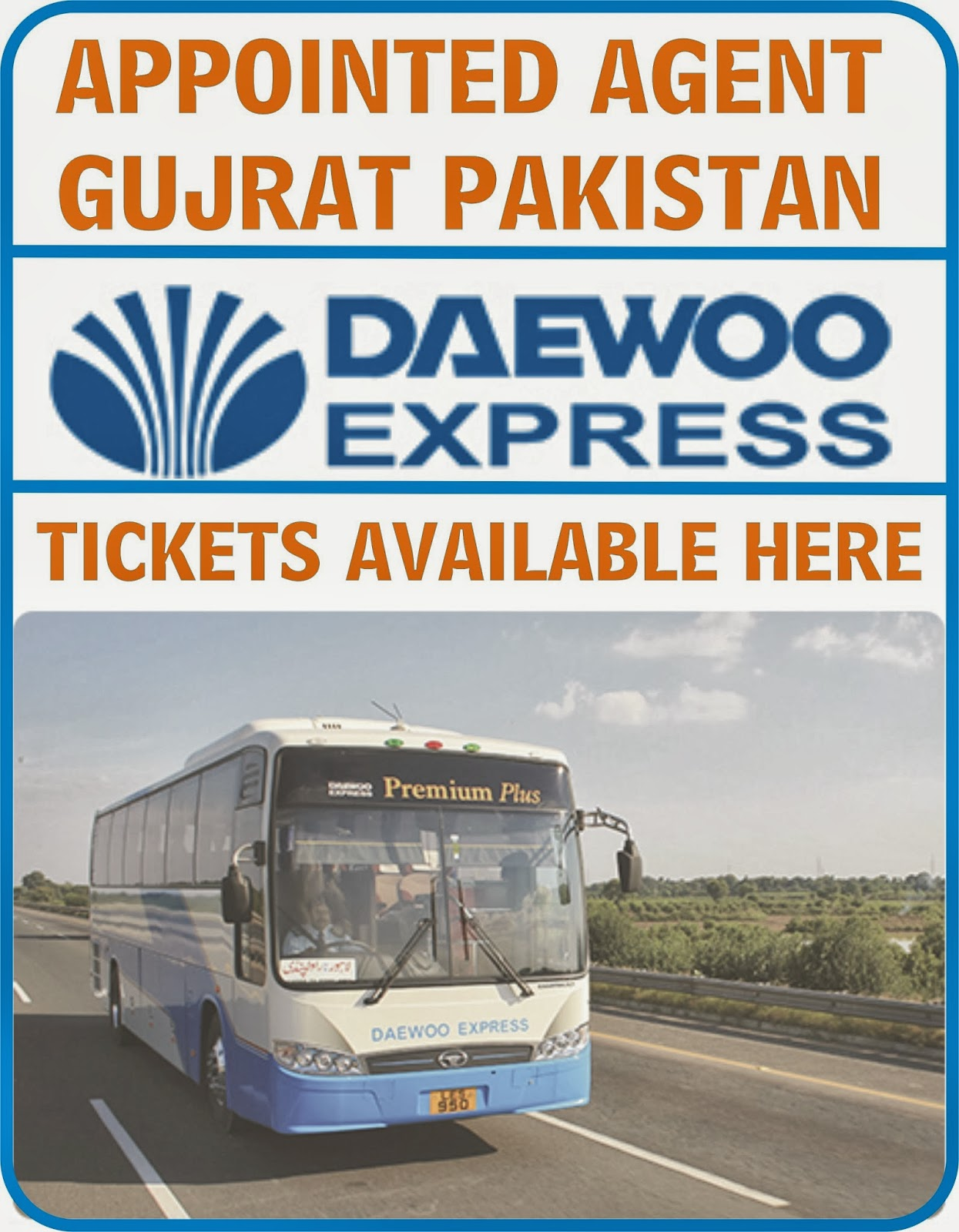 DAEWOO EXPRESS GUJRAT: September 2013