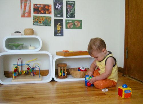 Quarto Montessoriano para crianças Apê em Decoração