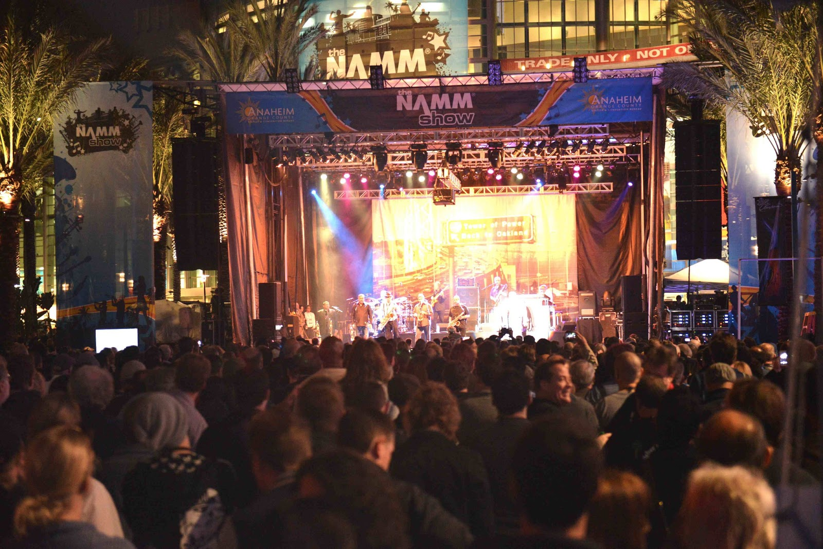 NAMM Outdoor Stage