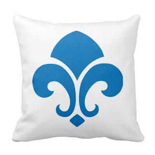 French home decor accent throw pillow
