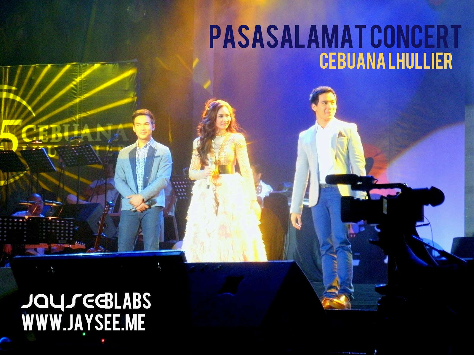 Sarah Geronimo, Erik Santos and Christian Bautista