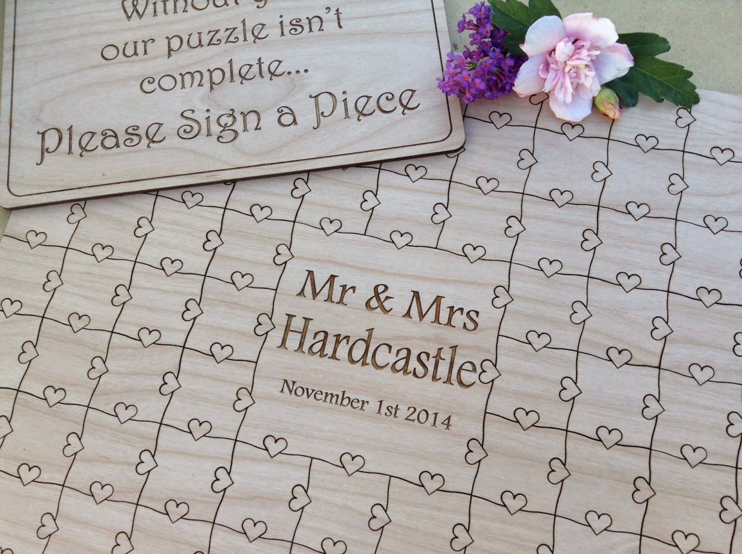 northern owl creations choosing a font for your wedding