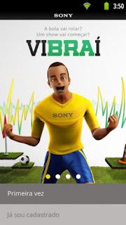 Vibraí é o primeio app de Campo Sony