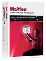 Download McAfee SiteAdvisor Plus With 6 Month License