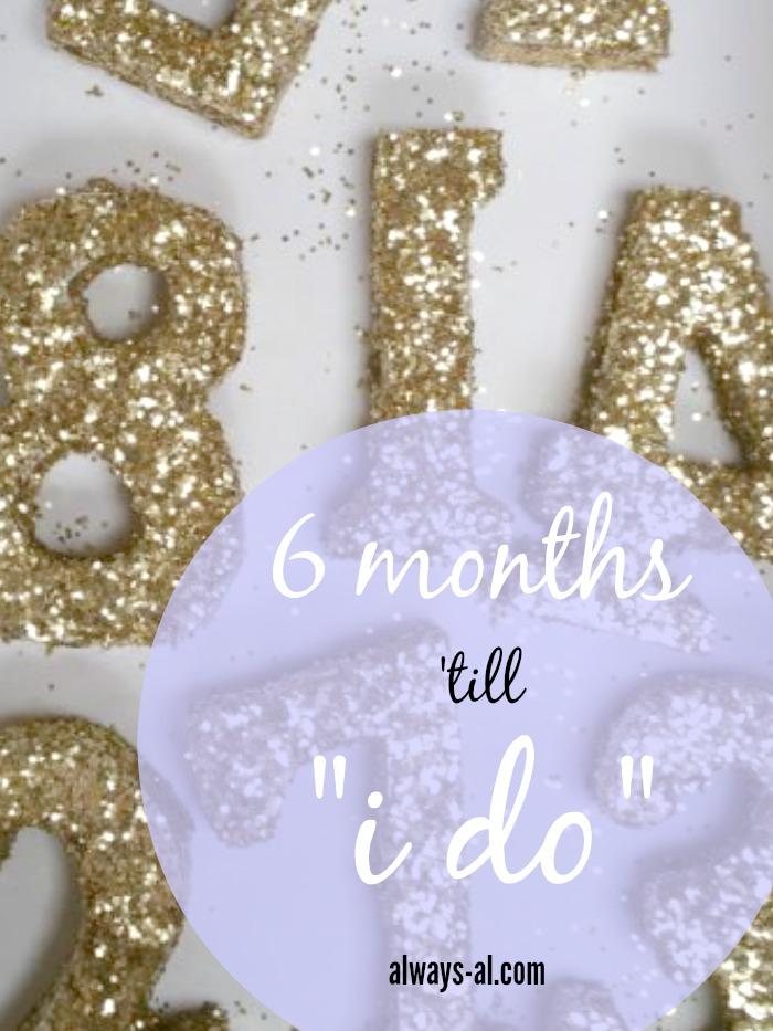 """6 Months 'Till """"I Do"""""""