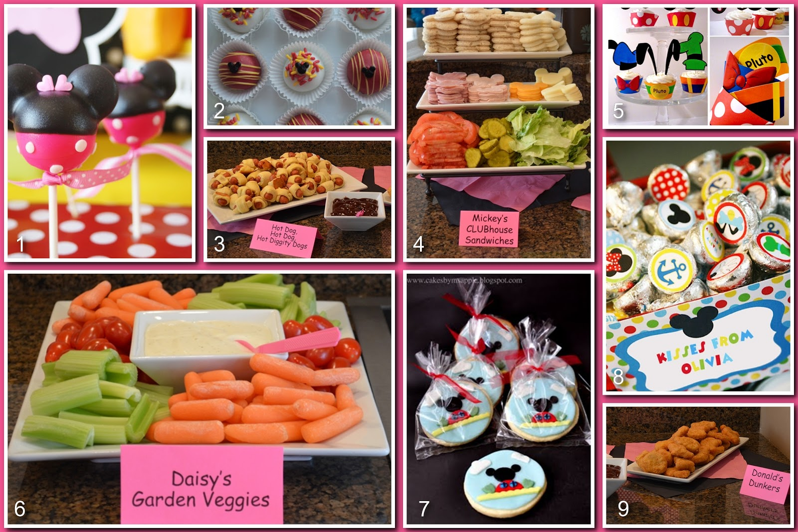 This mickey mouse themed food idea is so easy and super fun to make. All you need are marshmallows, straws, Disney used plastic swirly ones, I used paper ones I found in dollar section at Target or Michael's, Milk chocolate discs, red colored candy discs, red sugar, optional, parchment paper and .