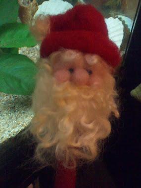 Babbo Natale sulla matita!