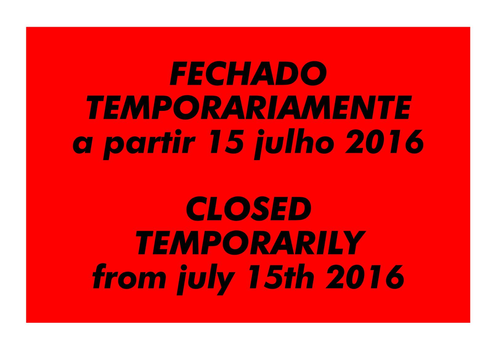 fechado/closed