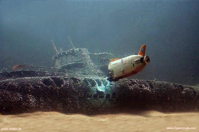 """Type VIIC U-Boat Wreck"""