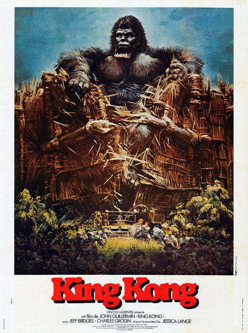 King kong poster 1976