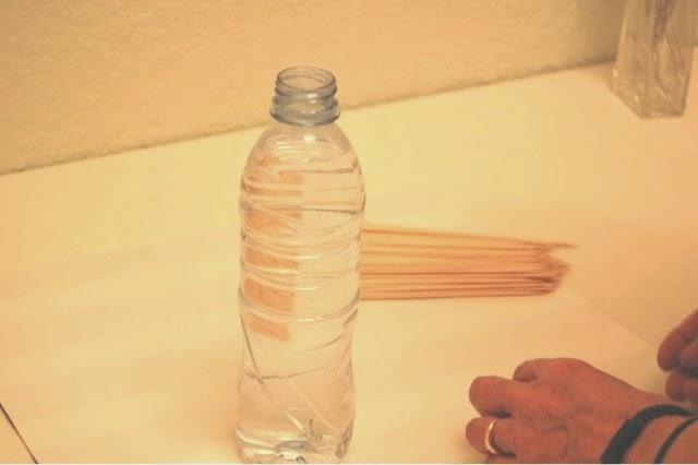 Decoración de un jarrón
