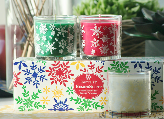 Christmas Candles from PartyLite UK
