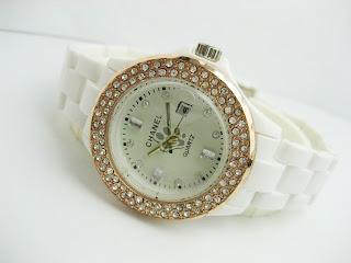 jam tangan wanita | Chanel | Fiber | Tanggal | Rantai | Murah | Grosir