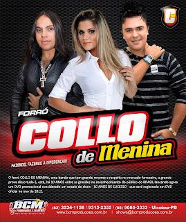 COLLO DE MENINA | AMOR QUE BEM NINGUEM QUER DÁ | MUSICA NOVA 2012