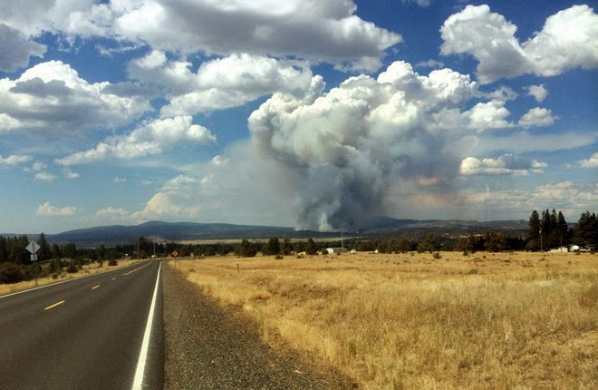 Klamath-Lake District already in fire season