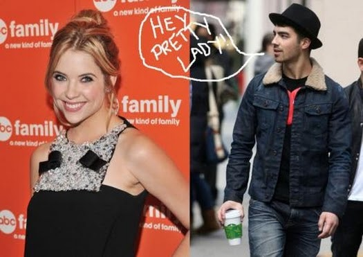 ashley benson and joe jonas dating Selena gomez and demi lovato's response to joe jonas  celebrity are demi lovato and john mayer dating  celebrity cara delevingne and ashley benson were.