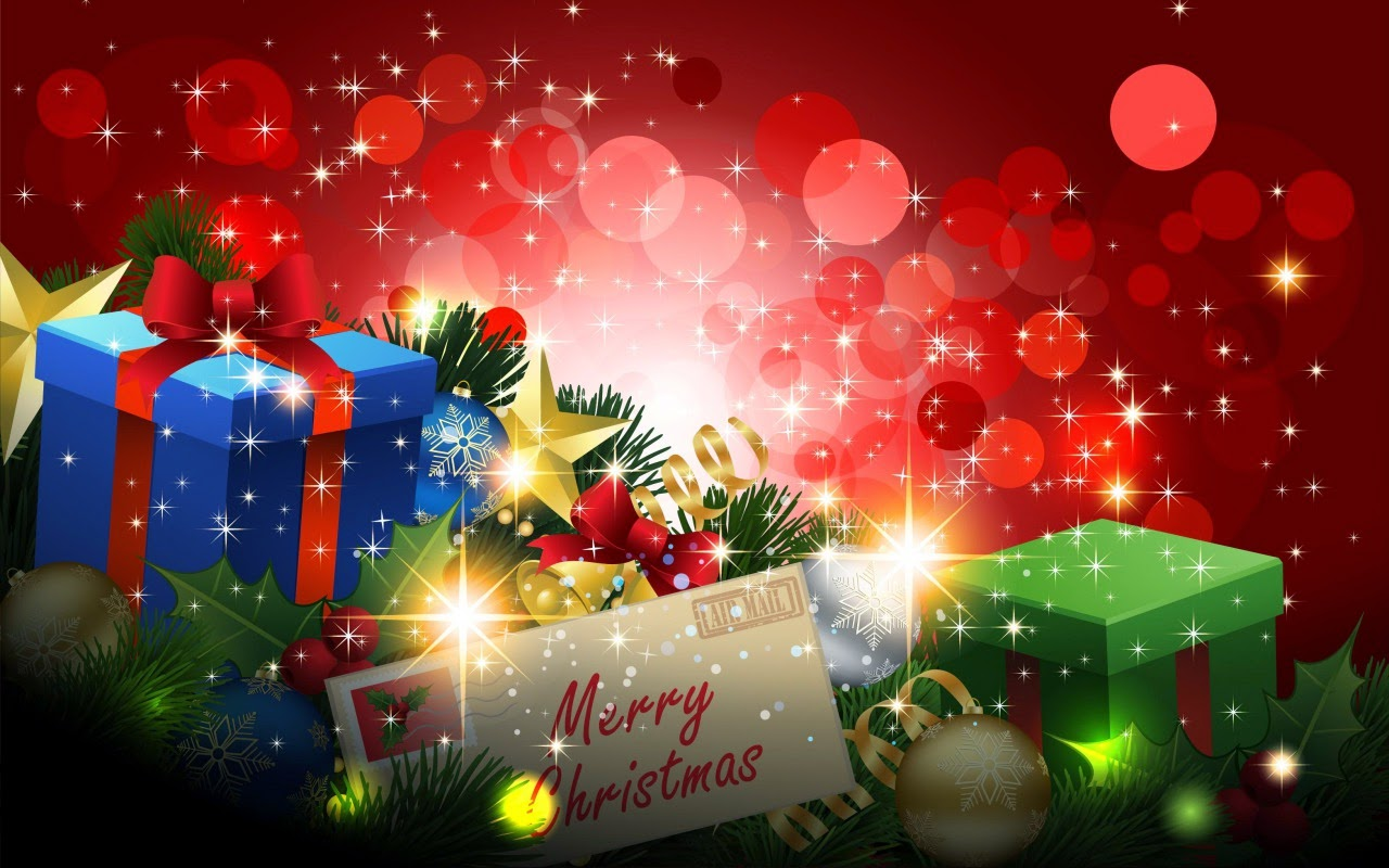 cute merry christmas background full hd