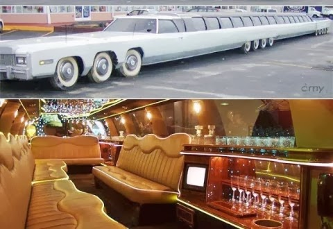 Limousine Paling Panjang Dunia