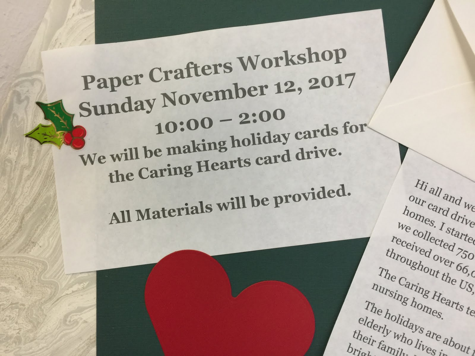 Paper Crafters Workshop