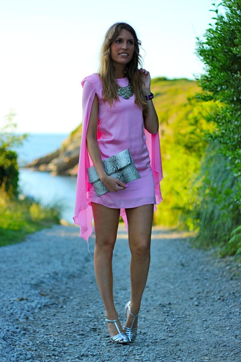 vestidos rosas de fiesta