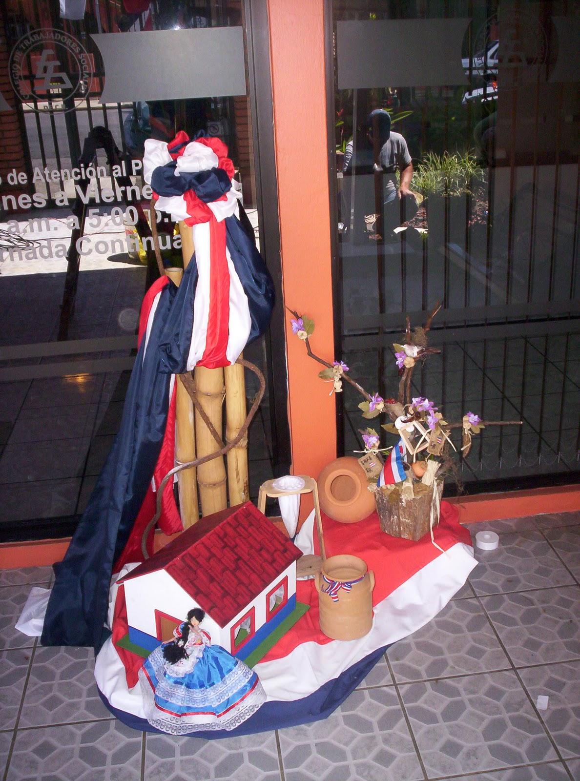 Decoracion Septiembre Mes Patria ~   Mercurio Decoraci?n Mes de la Patria Col de Trabajadores Sociales