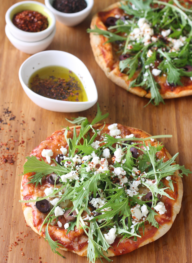 Pizza with Aleppo & Urfa Chili Flakes by SeasonWithSpice.com