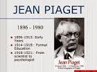 Jean Piaget{Cognición}