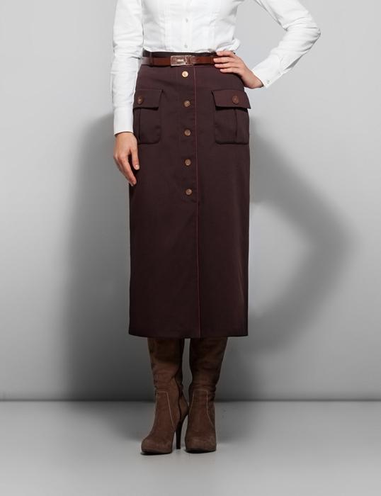 Kayra 2012/2013 Sonbahar Kış Tesettür Uzun Etek Modelleri