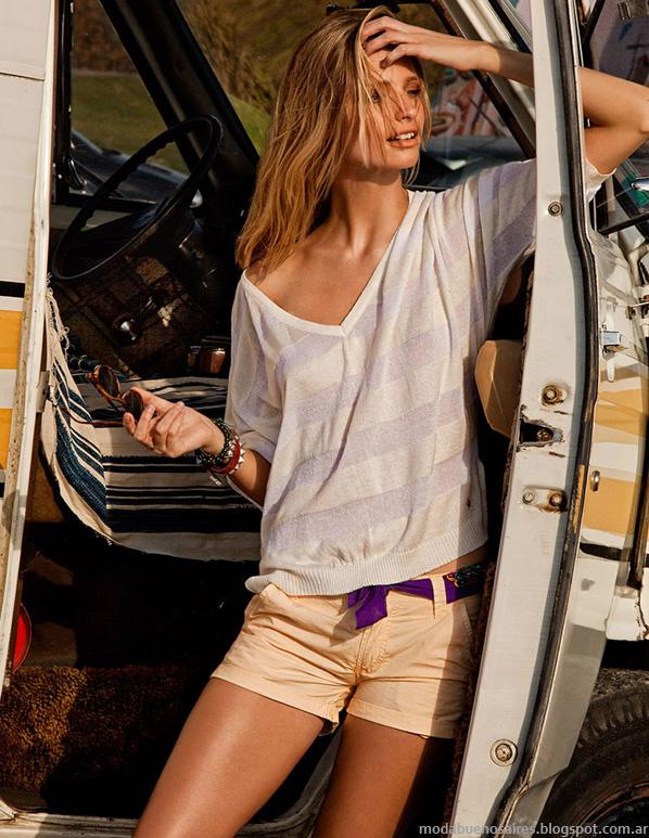 Tannery verano 2014 moda camisas de mujer.