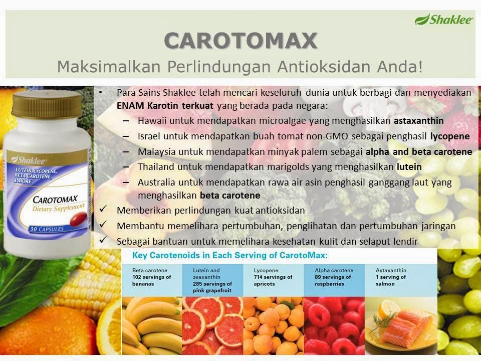 manfaat dan sumber carotomax shaklee