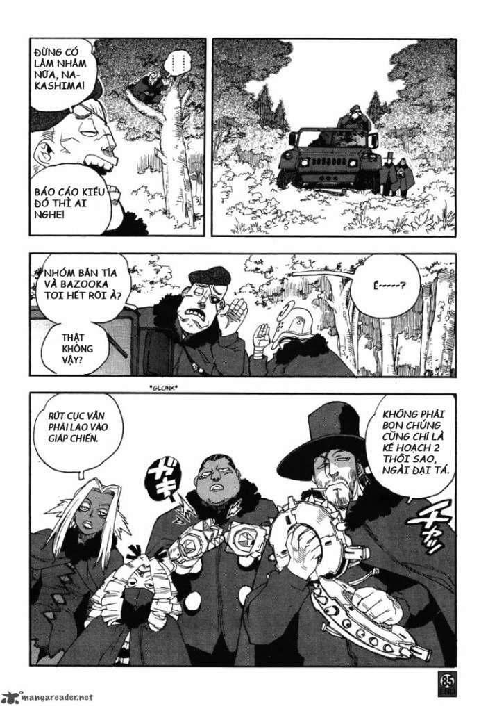 Aiki chap 84 - Trang 25