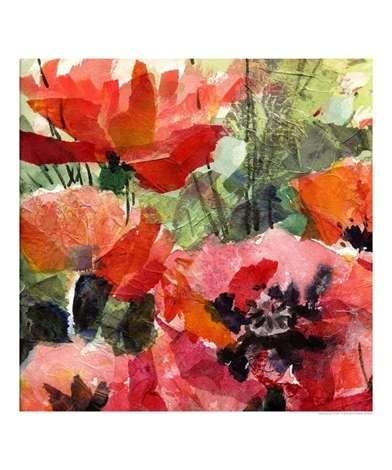 tissue paper collage artists Create a beautiful work of art using watercolors and tissue paper.