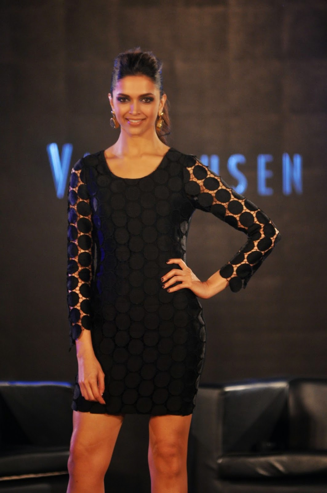 Deepika Padukone at Van Heusen Spring Summer Collection Launch