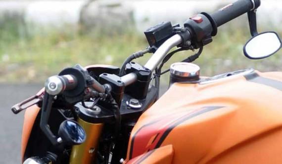 Modif Motor Vixion Buat Anda Yang Hobi Touring