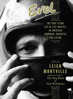 Cover of Evel, biography of Evel Kneivel by Leigh Montville