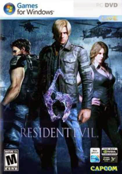 Resident Evil 6 PC Game Free Download Black Box 5.8GB