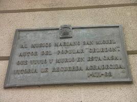 MARIANO SAN MIGUEL