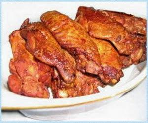 Resep Sayap Ayam Goreng Pedas