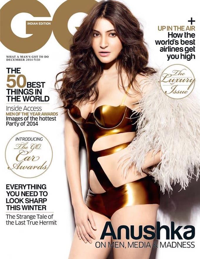 Anushka Sharma hot GQ magazine scans