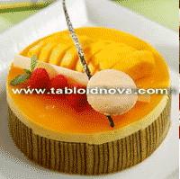 Resep Cake Cream Mangga