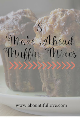 Frugal Homemade Muffin Mixes