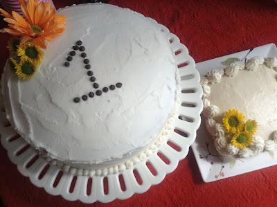 Healthy First Birthday Cake