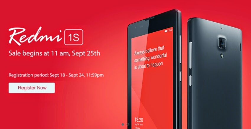 Xiaomi Redmi 1S Flash Sale Alert, Get Additional Accessory Bundle for P10