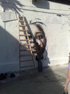 Buenos Aires street art - graffitti