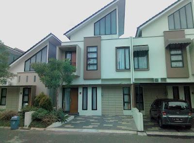 Dijual rumah di bintaro terrace 1