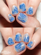 OPI Skull & Glossbones, Essie Lapis of Luxury, OPI Dating A Royal, .