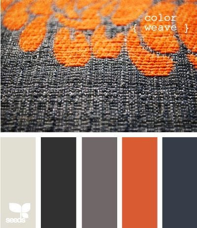 Evolution of style fall color fave gray orange - What colors go with orange ...