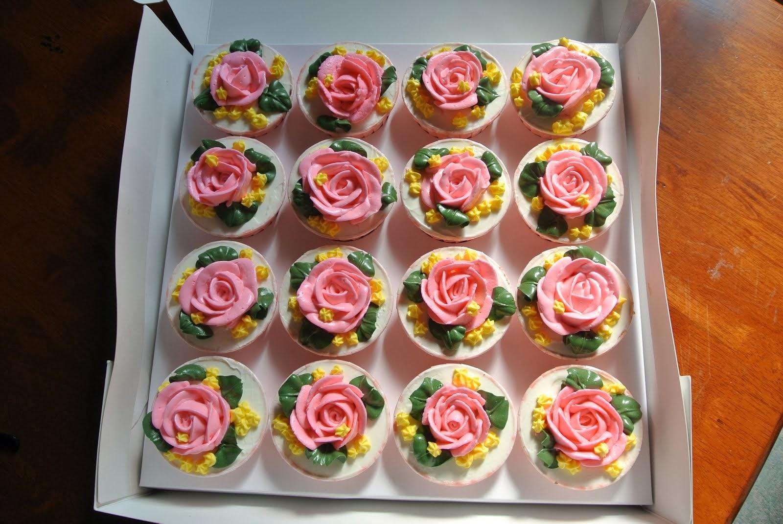 Kek Cawan (Buttercream)