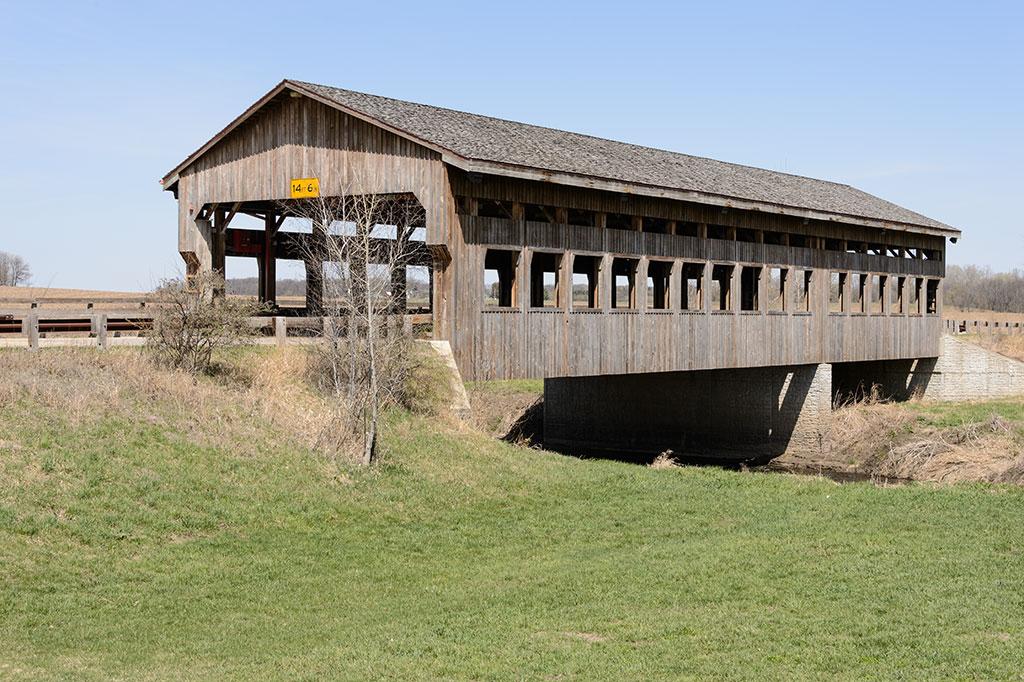 Covered Bridge in Morrison, IL